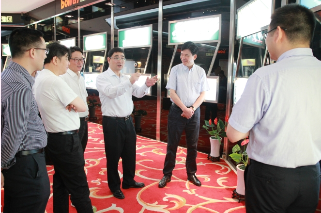 Academician Pan Fusheng and his party visited the Powerway Group
