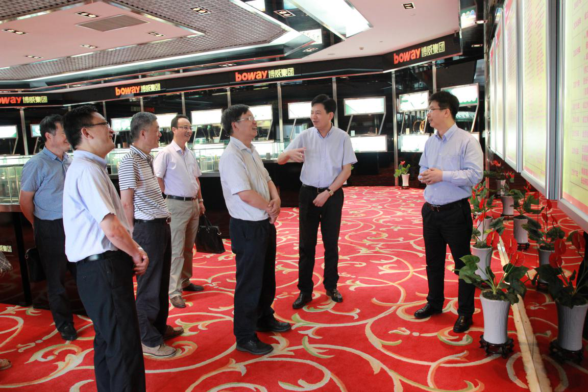 City Science and Technology Bureau, Mr. Li Yonghui and his team investigated the Powerway Group